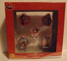 Disney Jr Minnie Bowtique 5 Piece Mini Ornament Set image 1