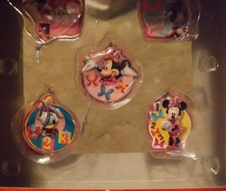 Disney Jr Minnie Bowtique 5 Piece Mini Ornament Set image 3