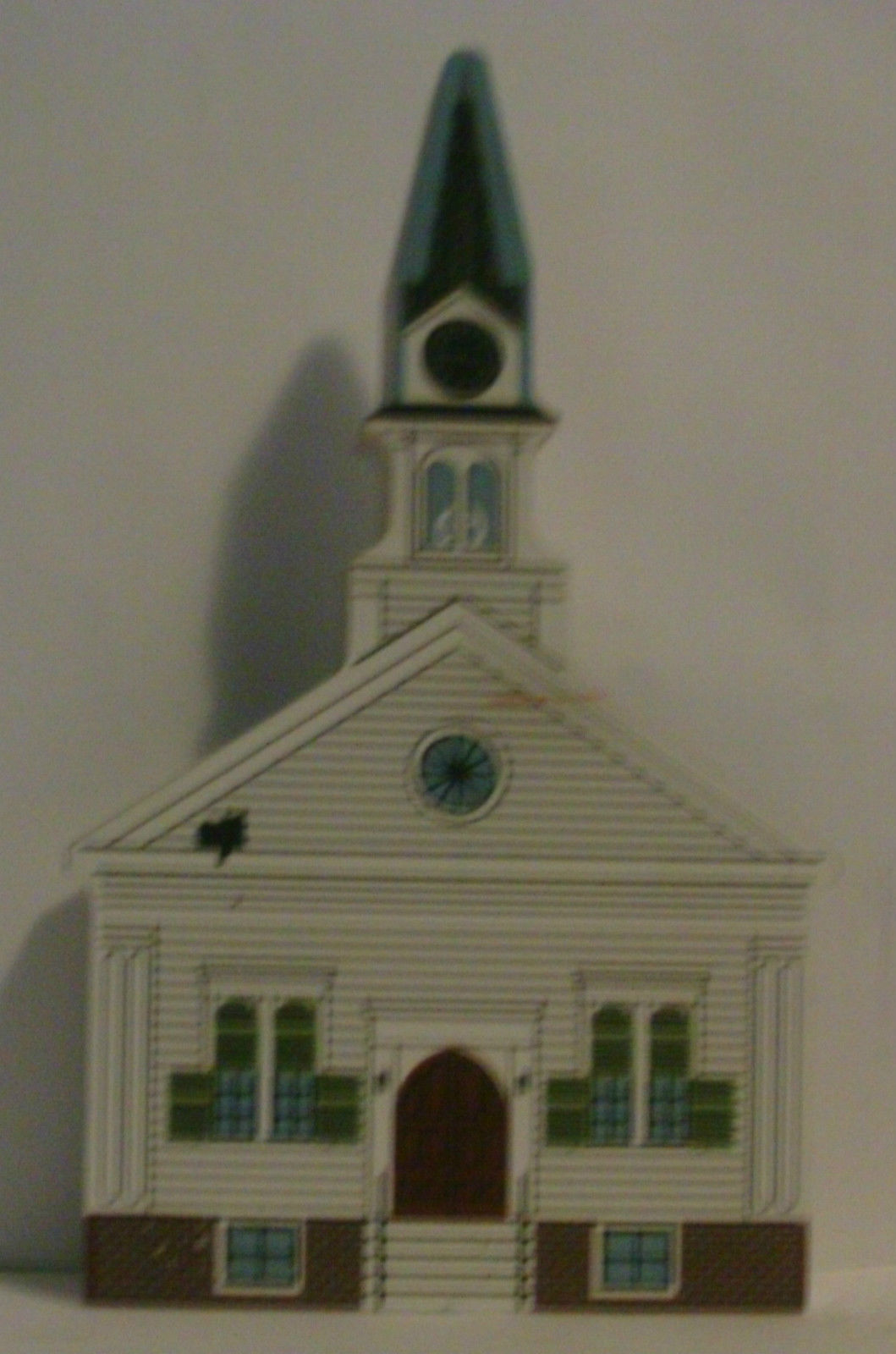 Cats Meow 1999 New England Church Series Harrington Methodist Church image 1