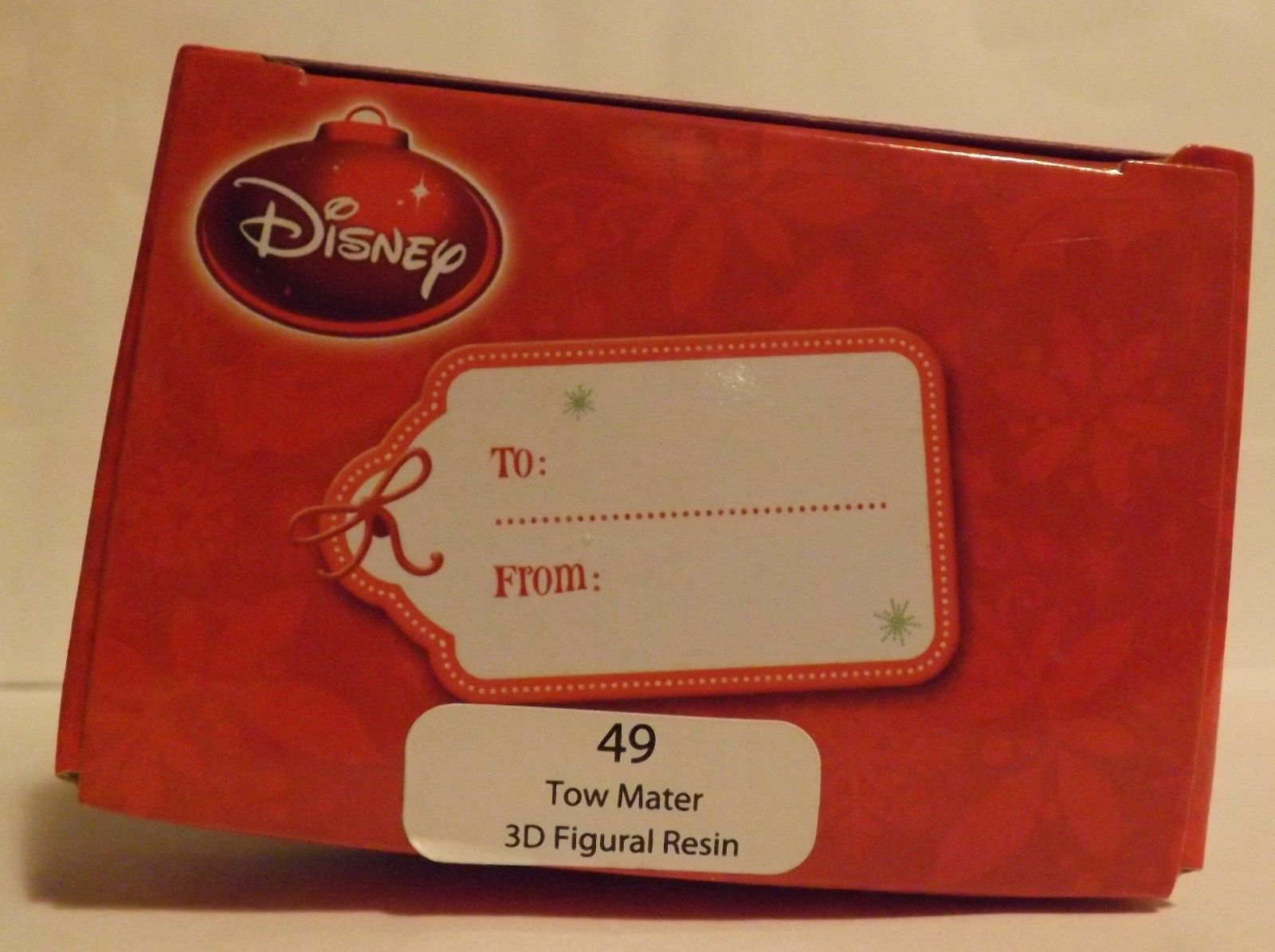 """Disney Cars Tow Mater 3"""" 3D Figural Resin Ornament image 2"""