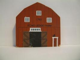 The Cats Meow Village American Barn Series Vermont Barn Echo Ledge Farm - $8.99