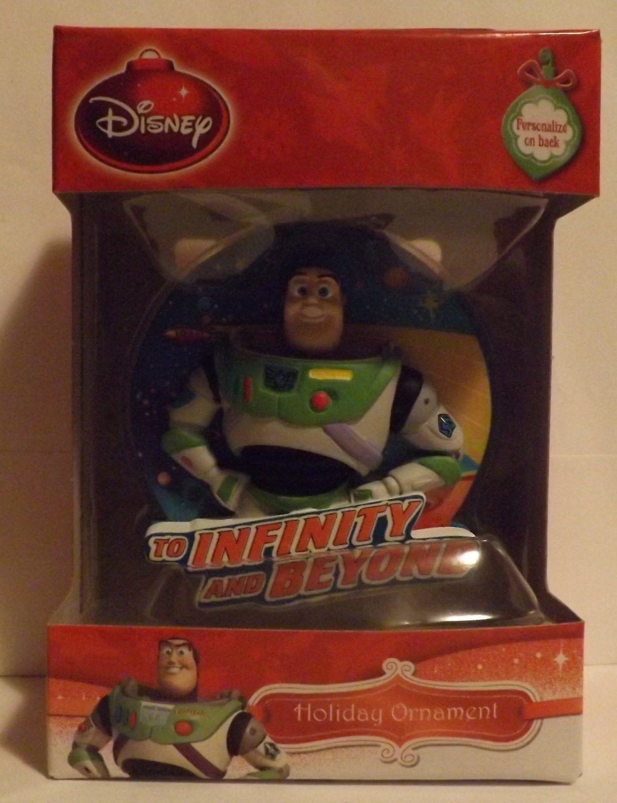 """Disney Toy Story Buzz Lightyear 3"""" Bas-Relief Ornament"""