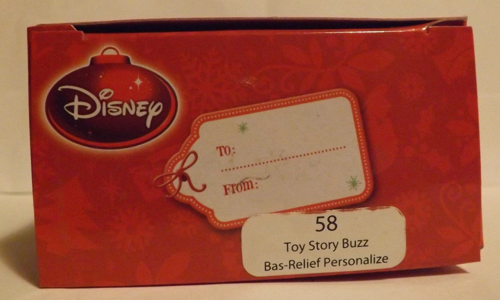 "Disney Toy Story Buzz Lightyear 3"" Bas-Relief Ornament image 2"