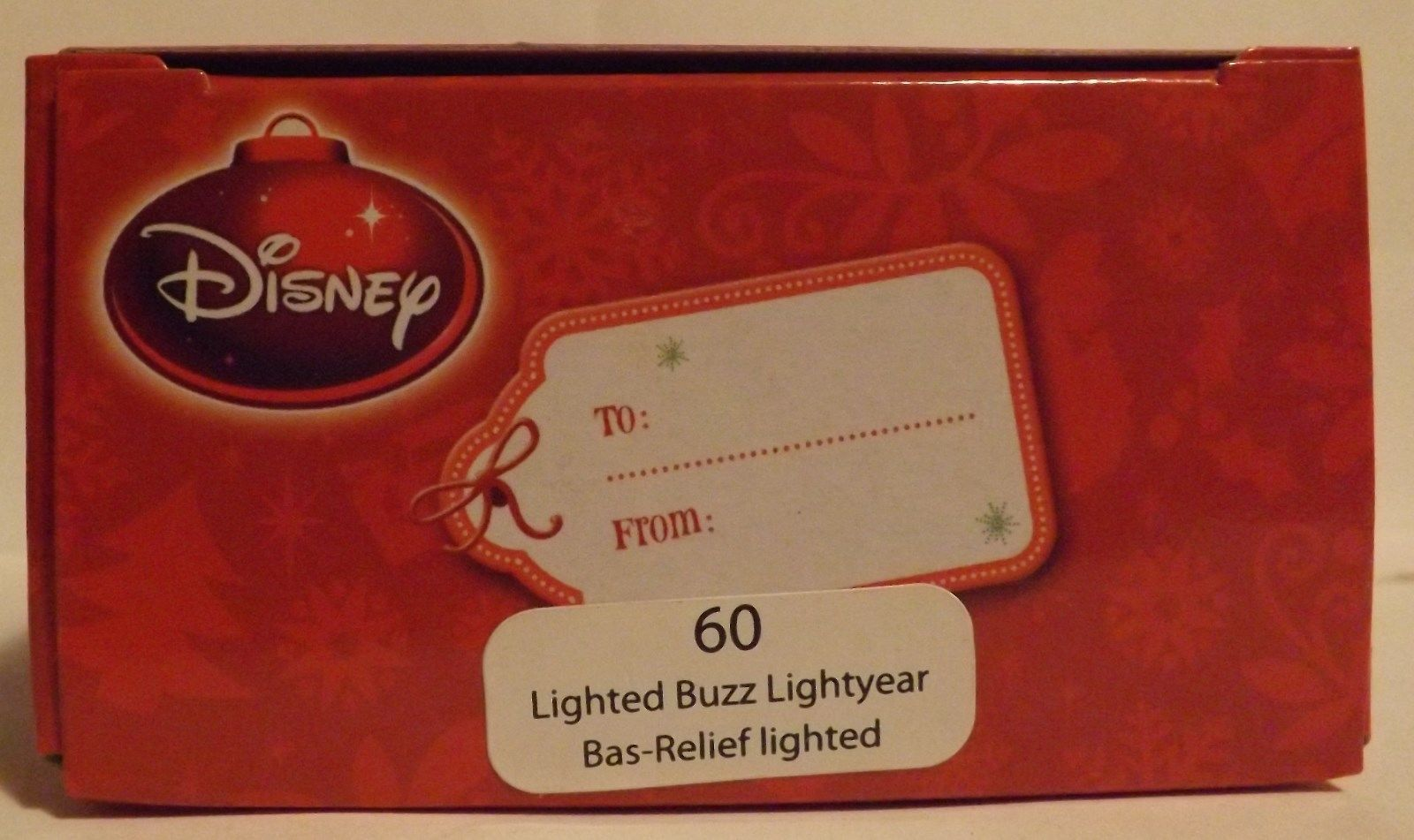 """Disney Toy Story 3""""  Buzz Lightyear Bas-Relief Lighted Ornament image 2"""