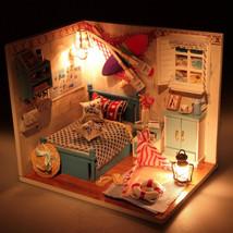DIY Handmade Cottage Romantic Summer New Building Model Family Education... - $22.21