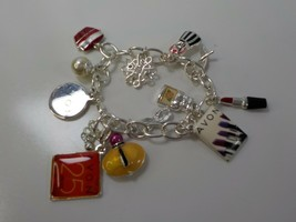 "Avon charm bracelet 2011 125th Anniversary jewelry fits up to 8.5"" wrist - $12.00"
