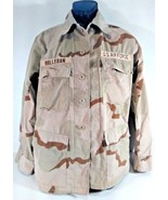 US AIR FORCE CAMO Combat Shirt Desert w/ Stripes Patches SMALL Reg BDU, GT - $24.99
