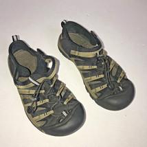 Keen Sandals Black And Tan Closed Toe Shoe Waterproof Women's Size 8? - $27.72