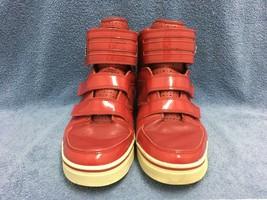 Vlado Footwear Luxury Aristocrat Men's Red Leather Hi-Tops IG-1070-3 SIZ... - $37.39