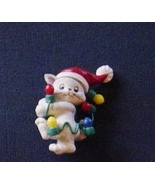Lot 6 Christmas Jewelry Plastic Pins Earrings C... - $7.99
