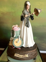 San Francisco Music Box Co - Scarlett's Honeymoon Figurine Gone With the... - $250.00