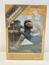 Vtg 1980s Retro CARON NOS Legwarmers Knit or Crochet Kit H4315 Multi Color - $18.69