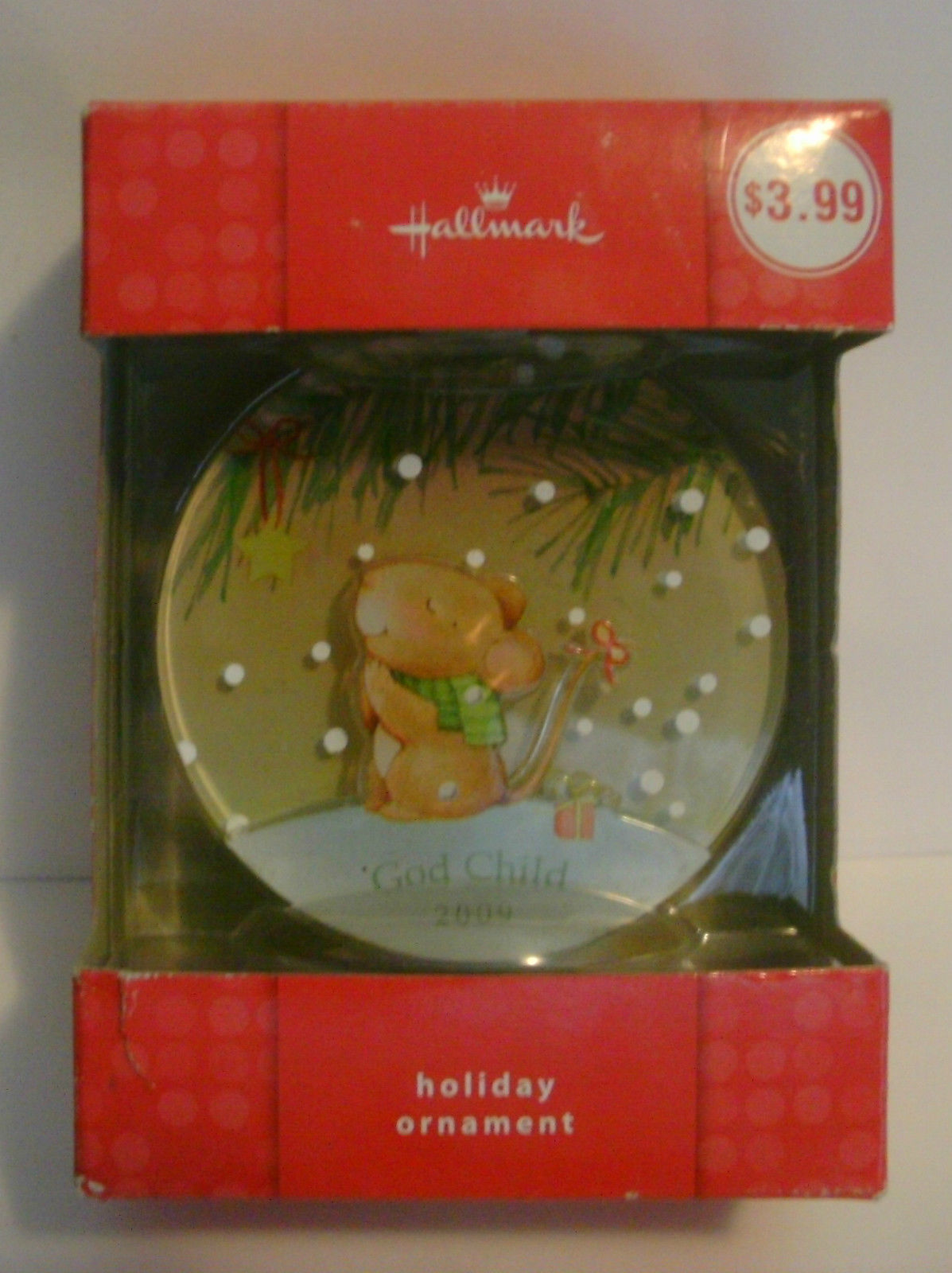 Hallmark Ornament God Child 2009