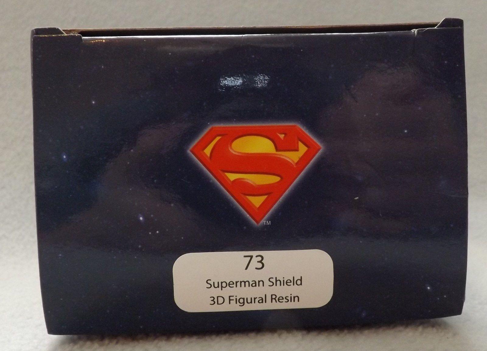 "Superman Shield 3"" 3D Figural Resin Ornament image 2"