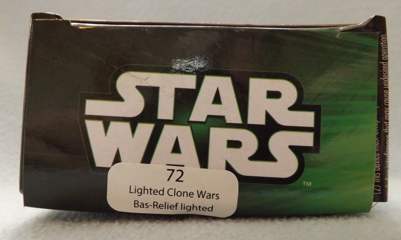 """Star Wars Clone Wars Yoda 3"""" Bas-Relief Lighted Ornament image 2"""