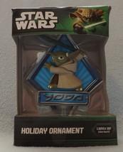 "Star Wars Clone Wars Yoda 3"" Bas-Relief Lighted Ornament - $14.99"