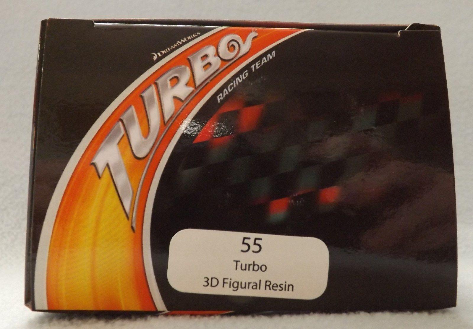 "Turbo 3"" 3D Figural Resin Ornament"