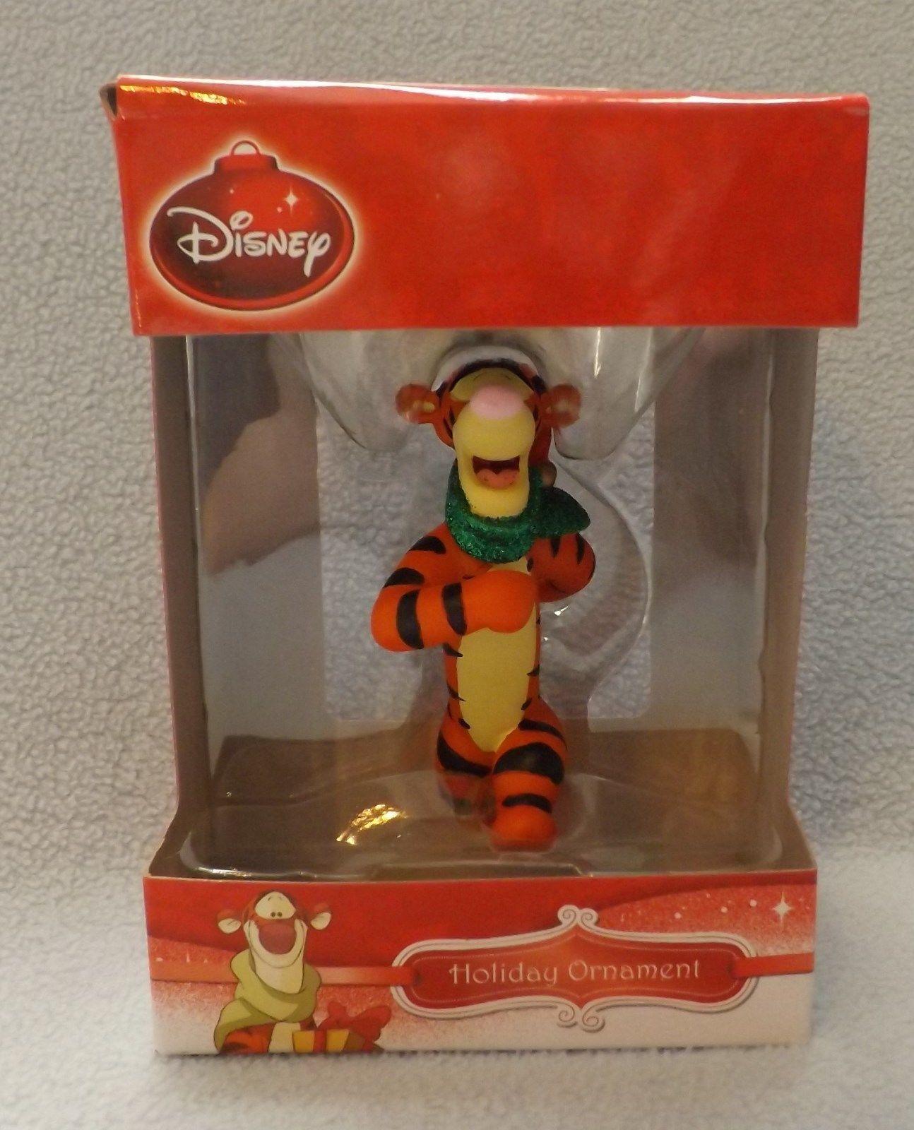 """Disney 3"""" Tigger 3D Figural Resin Ornament"""
