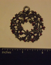Pewter Ornament Wreath - $6.99