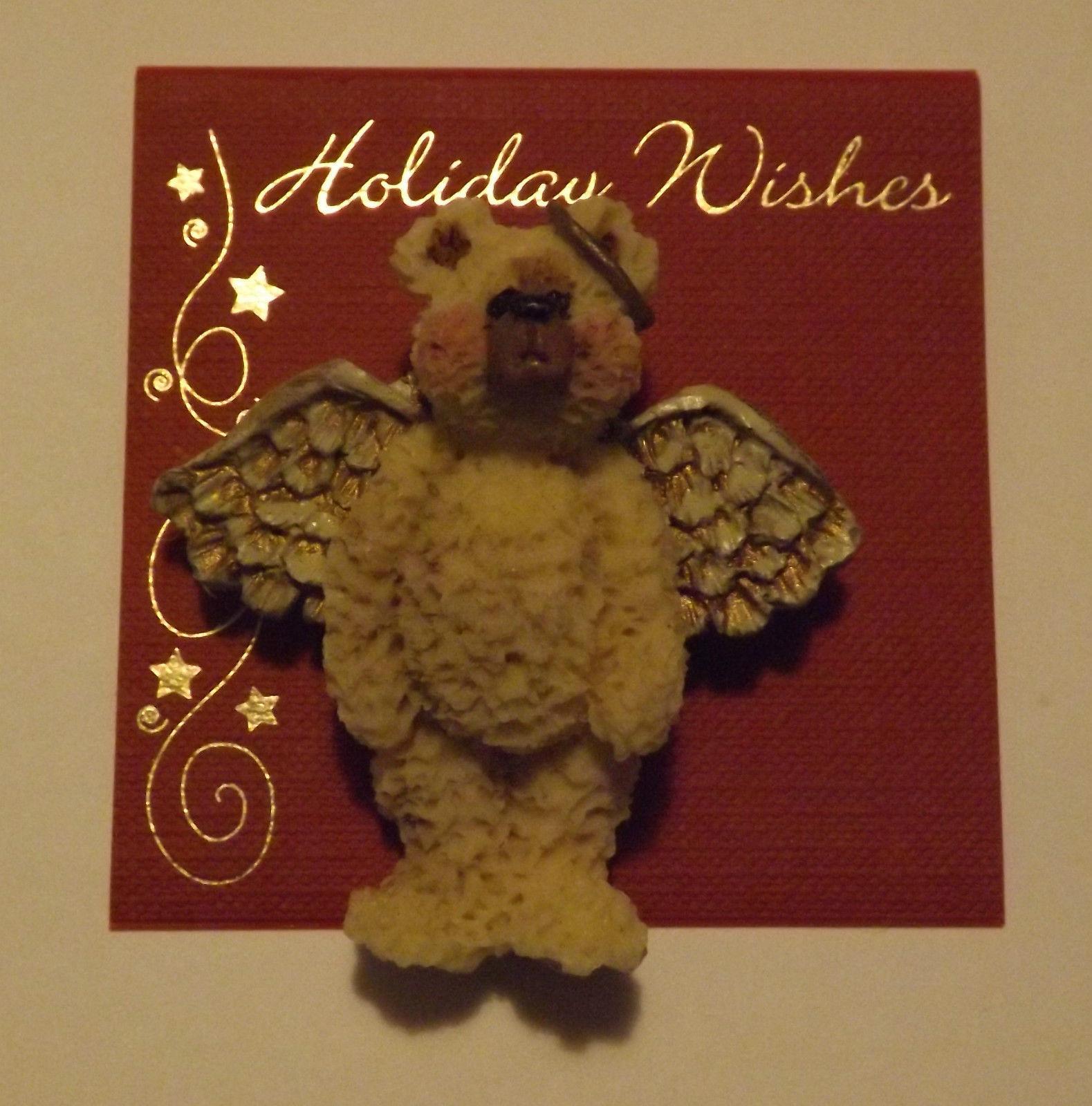 Christmas Pin Angel Bear