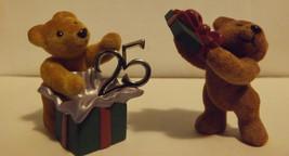 Hallmark Merry Miniatures Anniversary Edition 2-Piece Set 1999 - $8.99