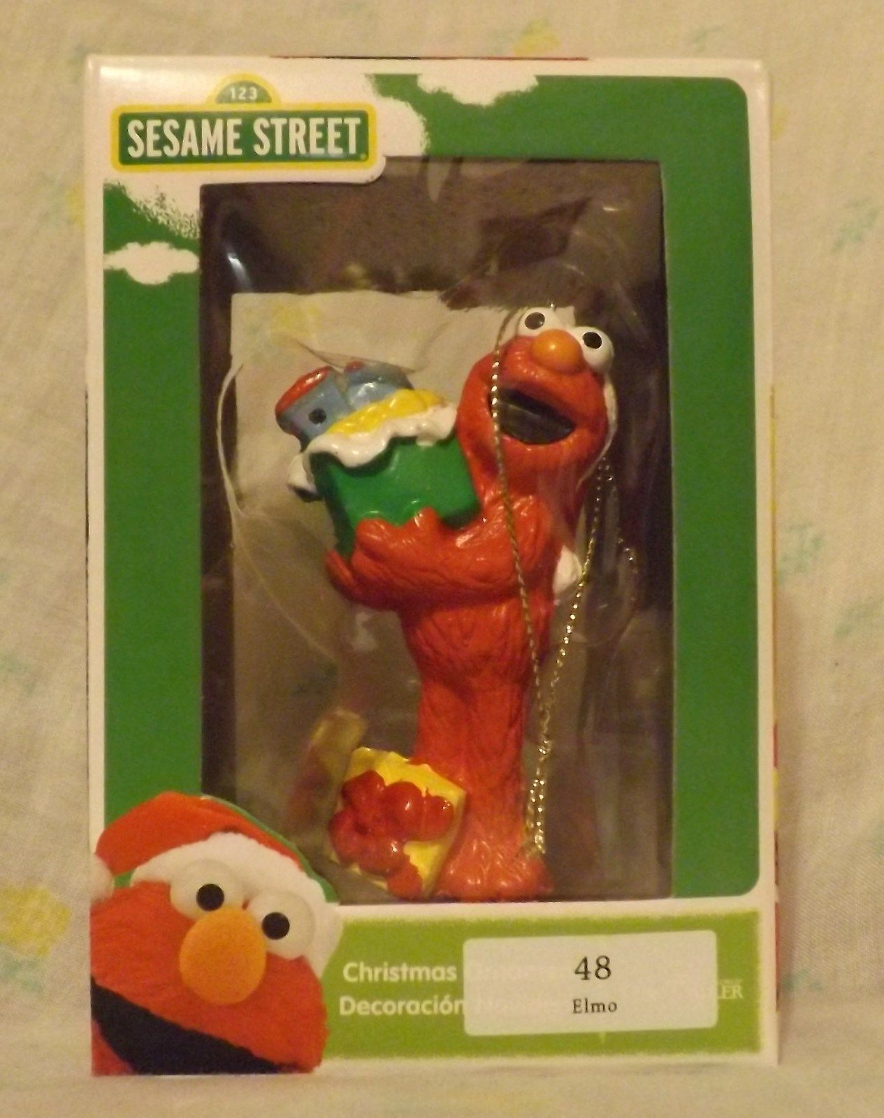 Sesame Street Elmo Ornament 2013 by Kurt S Adler