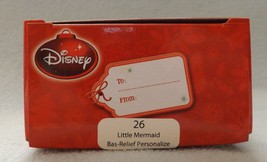 "Disney 3"" Little Mermaid Bas-Relief Ornament image 2"