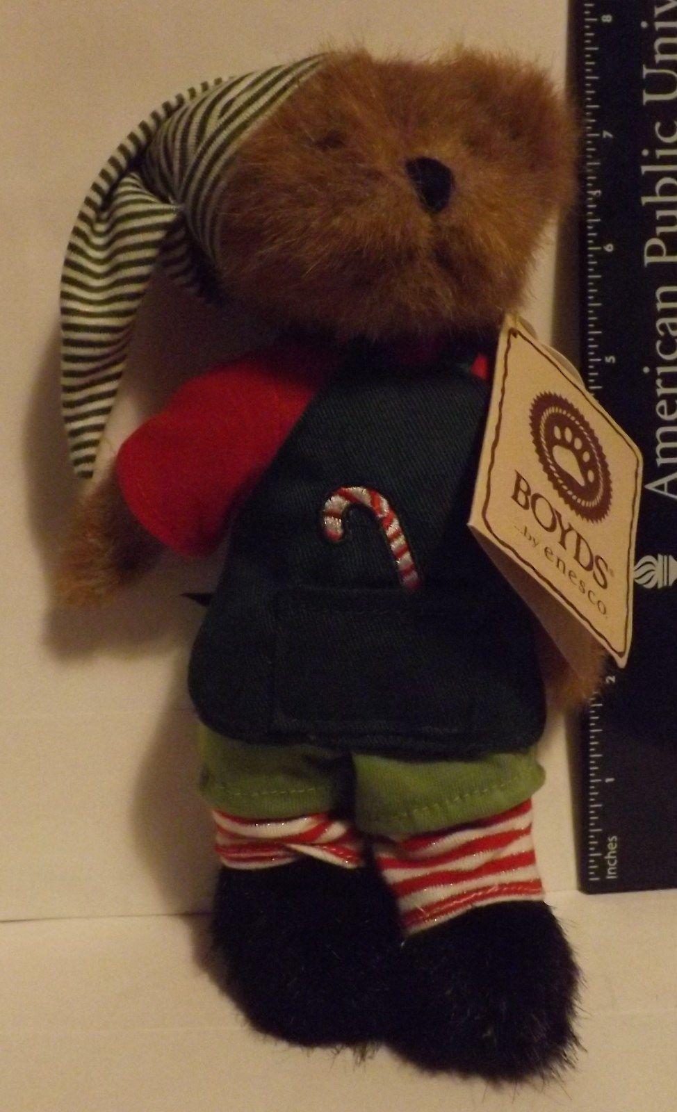 Boyds Bear Plush Eflie Kringlebeary