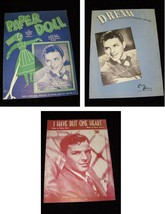 Frank Sinatra Sheet Music Lot Paper Doll I Have But One Heart Dream - $26.99