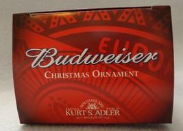 "3"" Budweiser Beer Can Ornament by Kurt S Adler 2013 image 2"