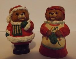 Hallmark Merry Miniatures Mr. and Mrs. Claus 2-Piece Set Holidays  - $8.99