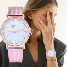 GENEVA Women Classic Quartz Silica Gel Wrist Watch Bracelet Watches Wristwatch C - $8.09+