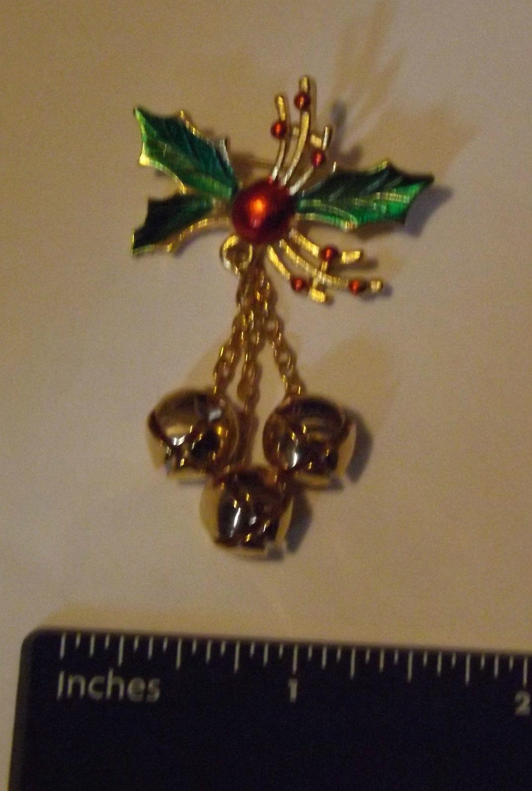 Holiday Bells Pin