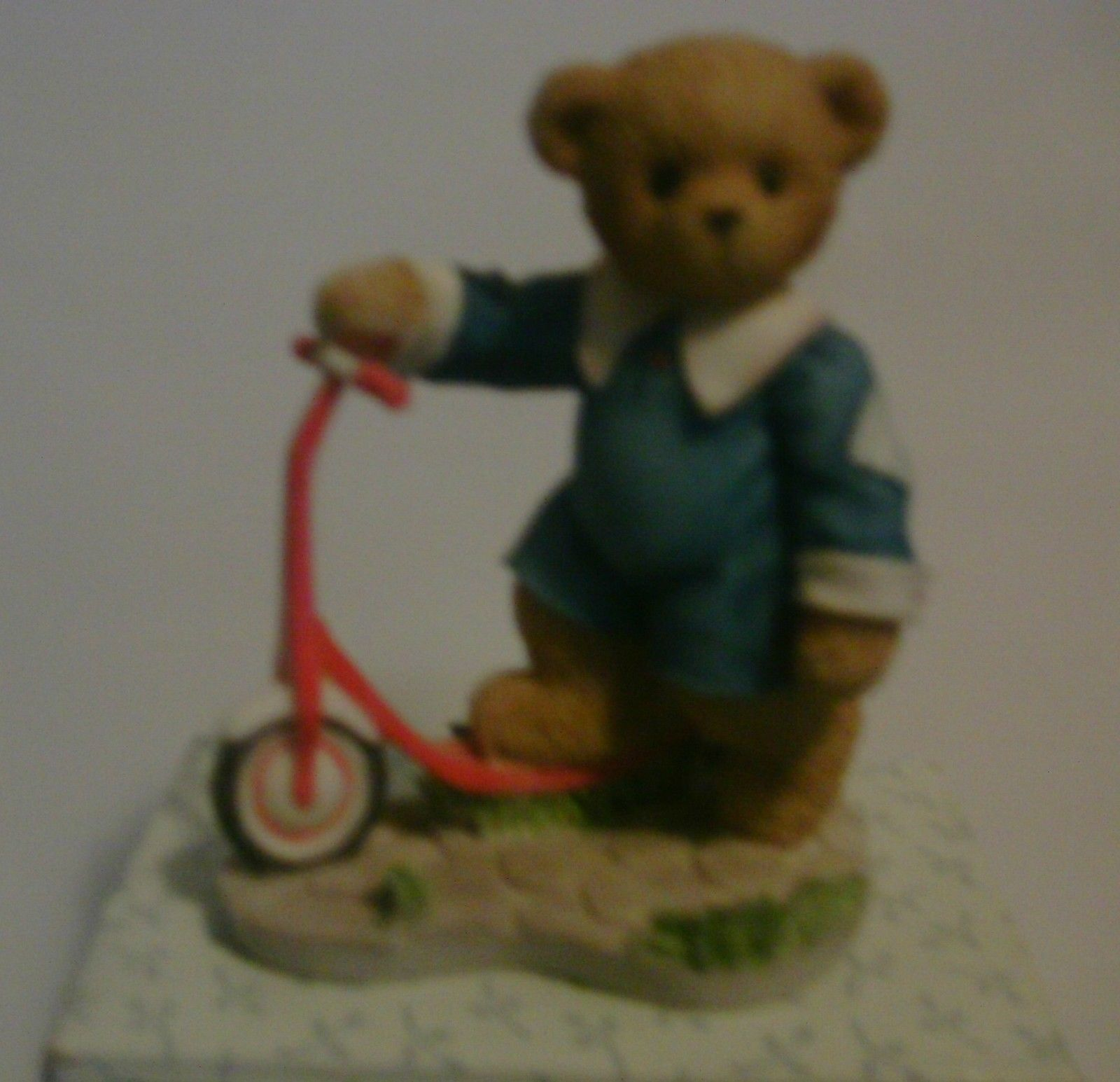 Cherished Teddies Colby Sometimes Life Needs A Little Push 2001