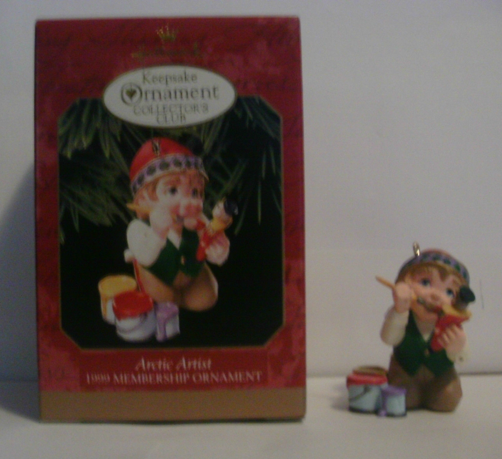 Hallmark Ornament Collectors Club 1999 3 Piece Set image 6