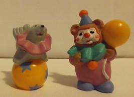 Hallmark Merry Miniatures Happy Birthday Clowns 2-Piece Set 1996 - $8.99