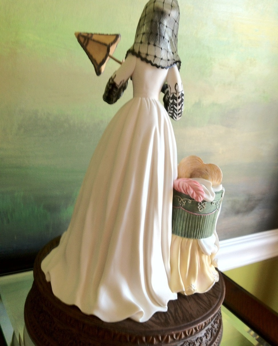 San Francisco Music Box Co - Scarlett's Honeymoon Figurine Gone With the Wind