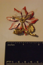 Poinsettia Pin/Brooch Christmas image 2