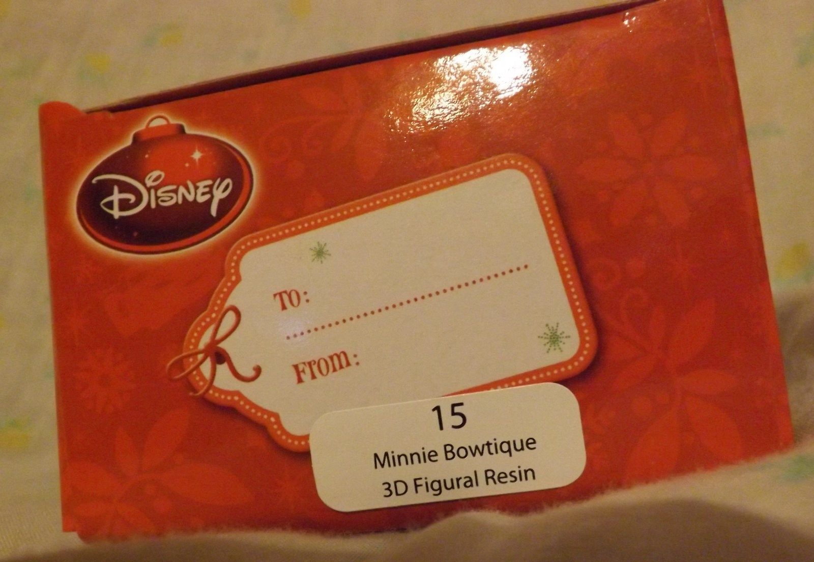 Disney Minnie Bowtique 3D Figural Resin Ornament 2013 image 2