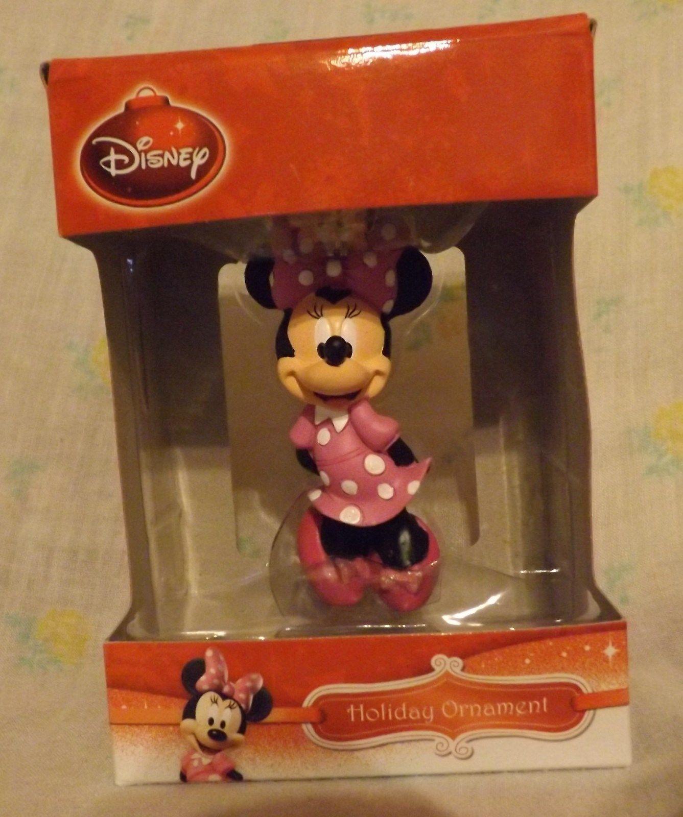 Disney Minnie Bowtique 3D Figural Resin Ornament 2013