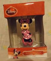Disney Minnie Bowtique 3D Figural Resin Ornament 2013 image 1