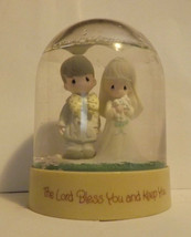 Precious Moments Snow Globe The Lord Bless You and Keep You - $19.99