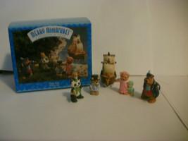 Hallmark Merry Miniatures Peter Pan 5 Piece Set 1997 - $8.99