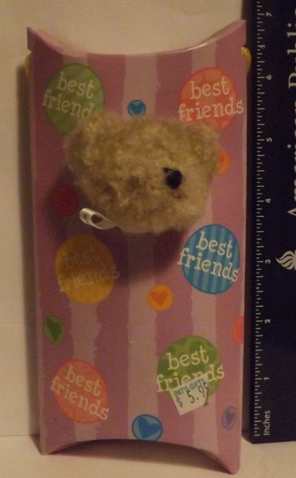 Boyds Bear Plush Peek-A-Bear Greeting Best Friends Style #907009