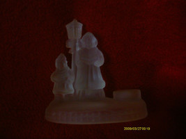 Centurion Collection  Christmas Village Candle Holder image 1