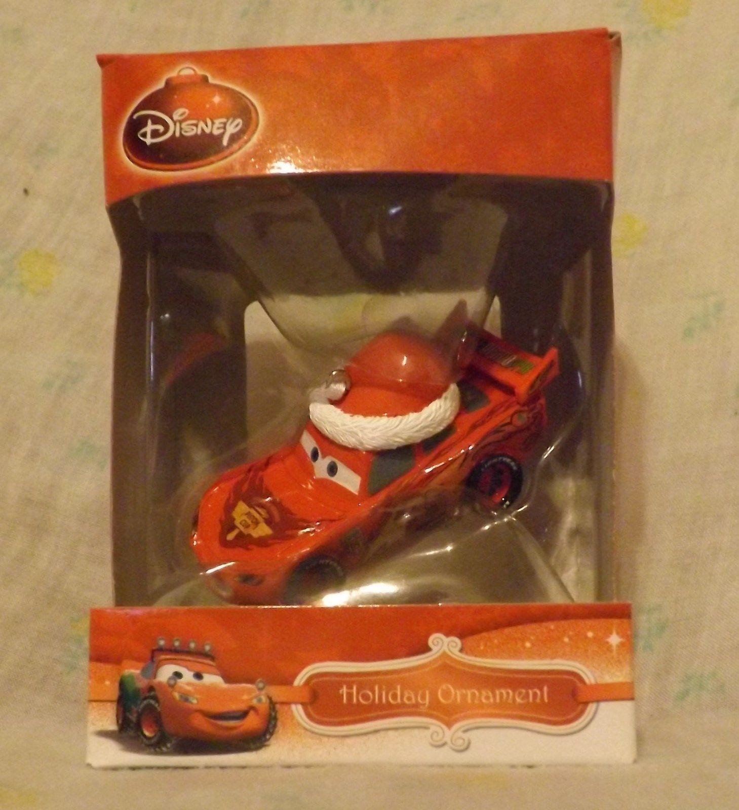 Disney Lightning McQueen 3D Figural Resin Ornament 2013