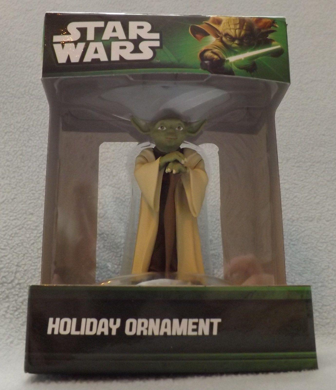 "Star Wars Yoda 3"" 3D Figural Resin Ornament"