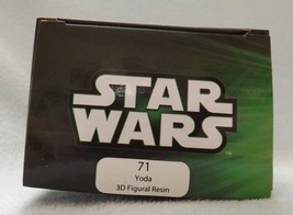 "Star Wars Yoda 3"" 3D Figural Resin Ornament image 2"