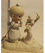 Precious Moments His Eye is on the Sparrow 1983 - $19.99