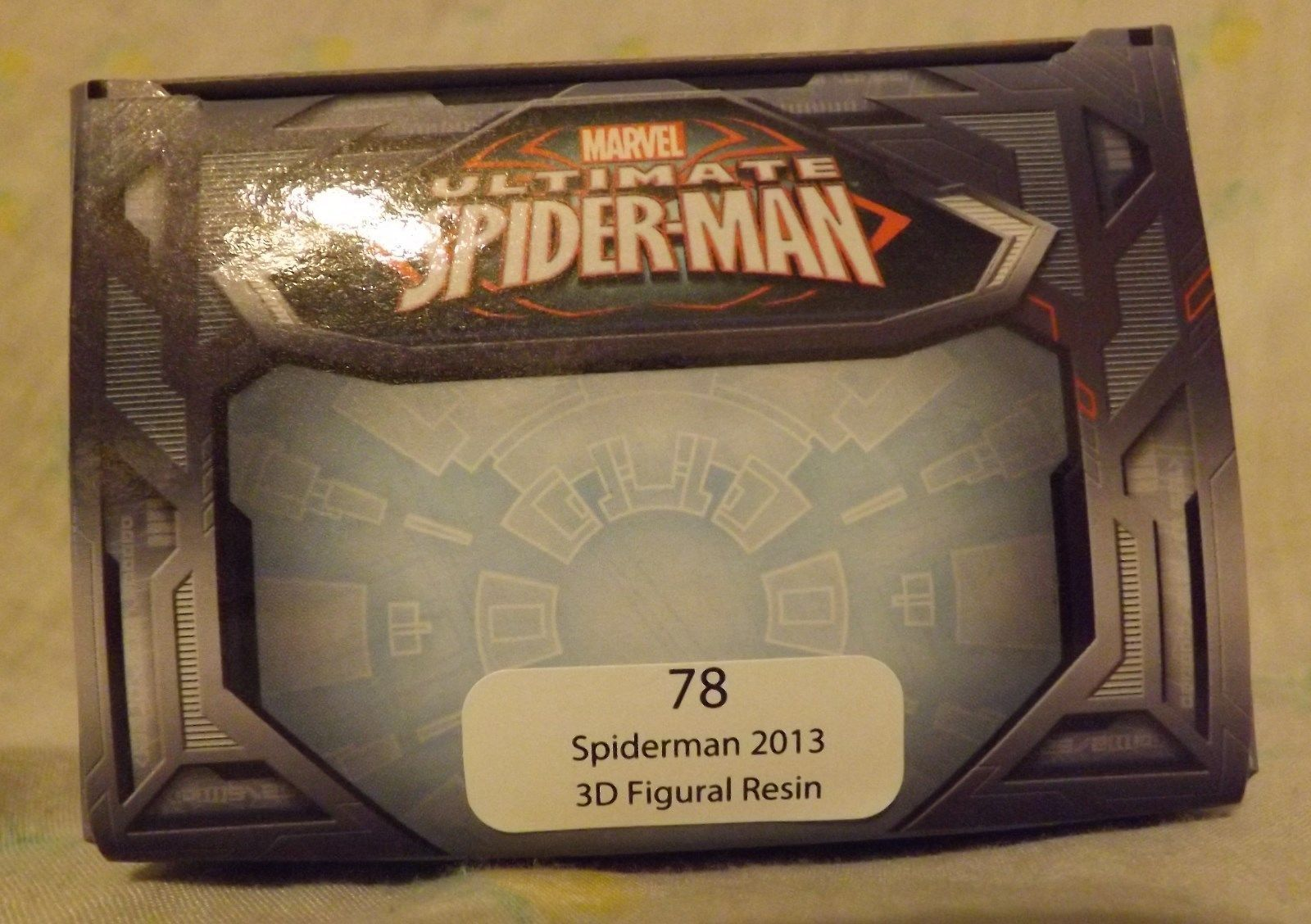 Marvel Ultimate Spiderman 3D Figural Resin Ornament 2013 image 2